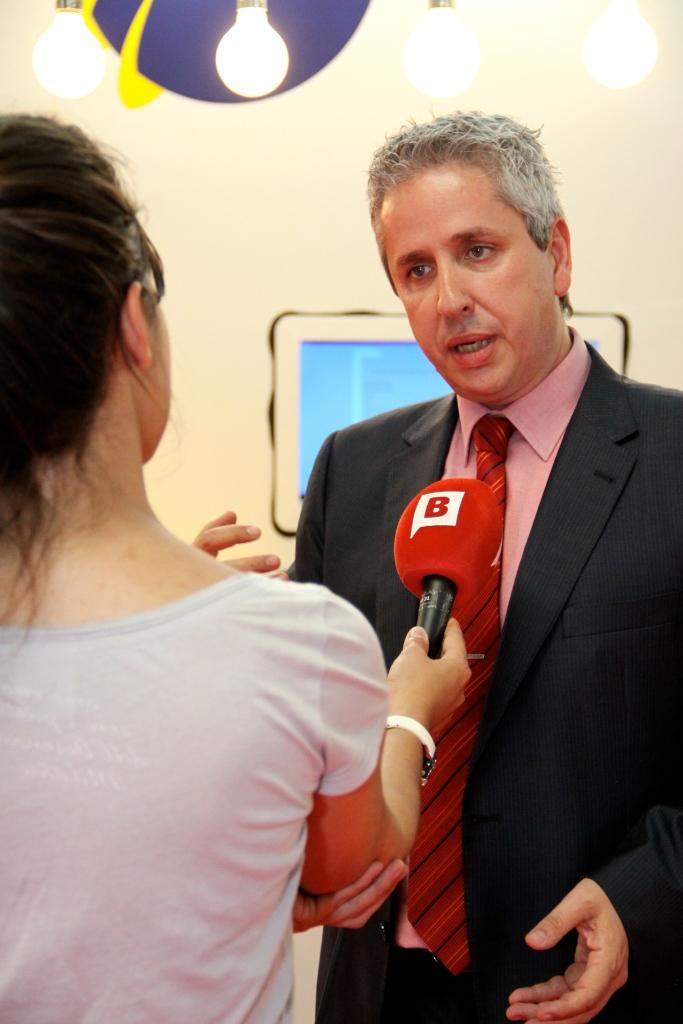 Entrevista Víctor Vilas en BTV Barcelona
