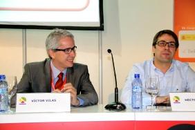Victor Vilas y Héctor Benito, Responsable IT Carreras Grupo Logístico