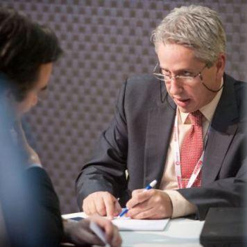 Víctor Vilas en stand AndSoft en Logistics Madrid 2013