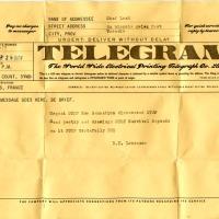 Vuelve el telegrama: ¿La aplicación móvil de #mensajería más segura?