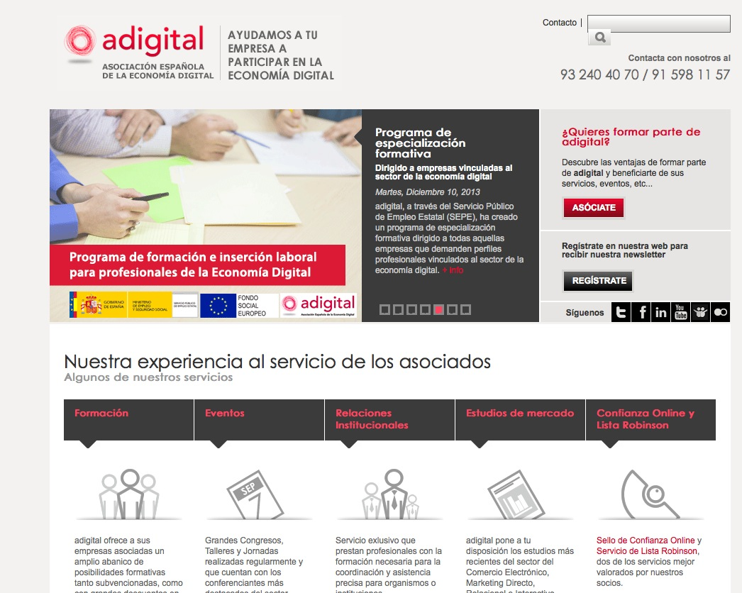 Informe Adigital sobre Ecommerce