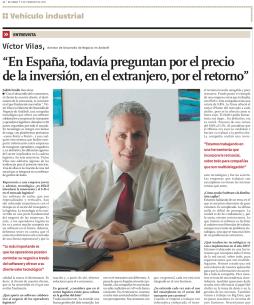 Entrevista a Víctor Vilas en El Vigía 9 feb 2015
