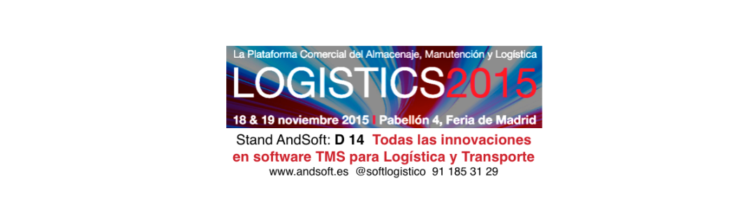 AndSoft en Logistics Madrid 2015