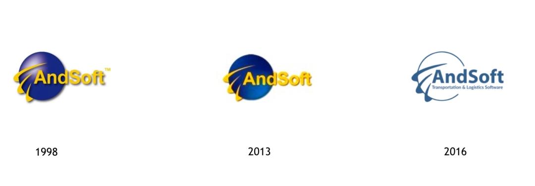 Evolución Identidad Corporativa AndSoft