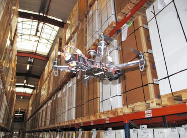 Solución Dron para Inventario Almacén