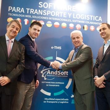Firma Directivos AndSoft y TransFollow por eCMR Digital