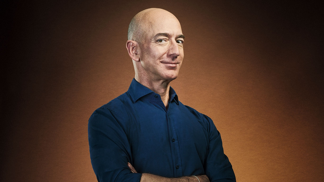 What final recommendation has Jeff Bezos made in his latest annual letter to Amazon shareholders?