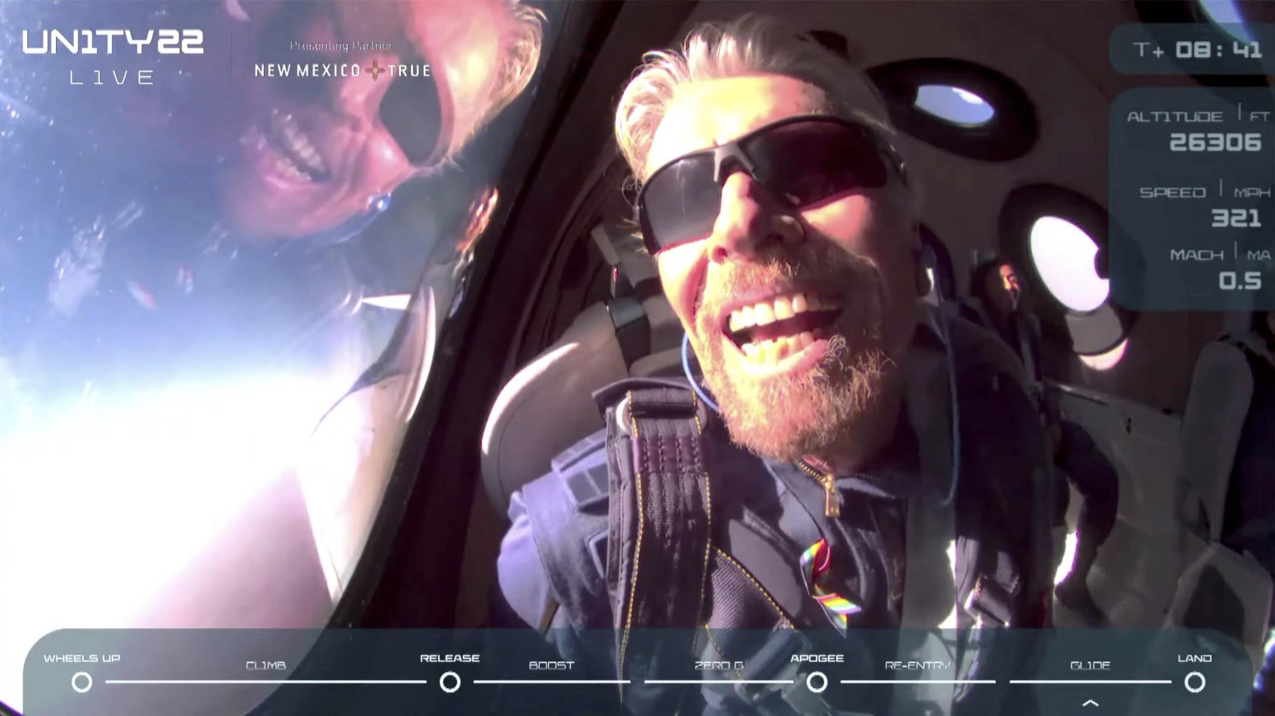 Virgin Galactic´s: Despega la era de los vuelos privados a la puerta del espacio